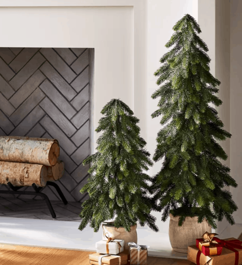 Studio McGee Threshold Christmas wood trees