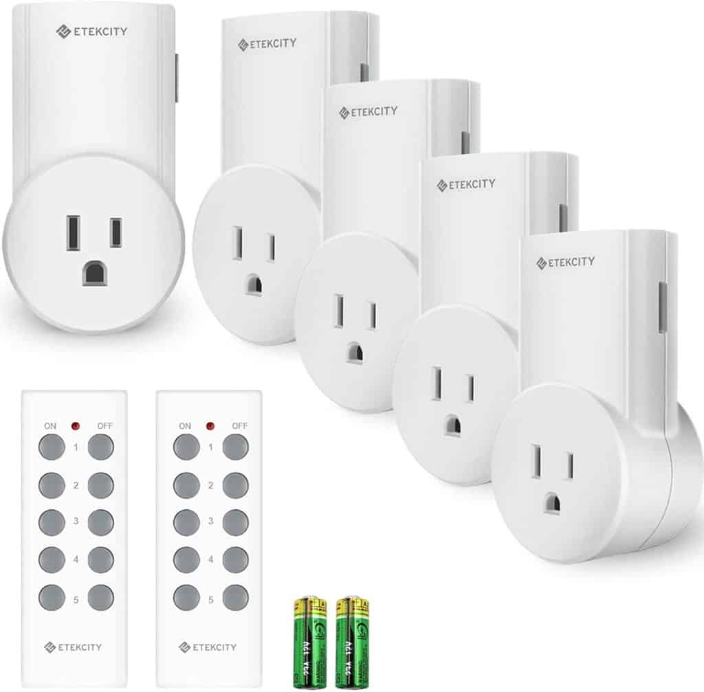 wireless remote controls for outlets