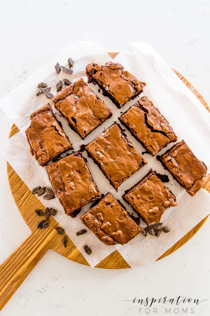 Forget about the box! These delicious homemade cocoa brownies will beat any mix, any time. #bestbrownies #cocoabrownies #homemadebrownies