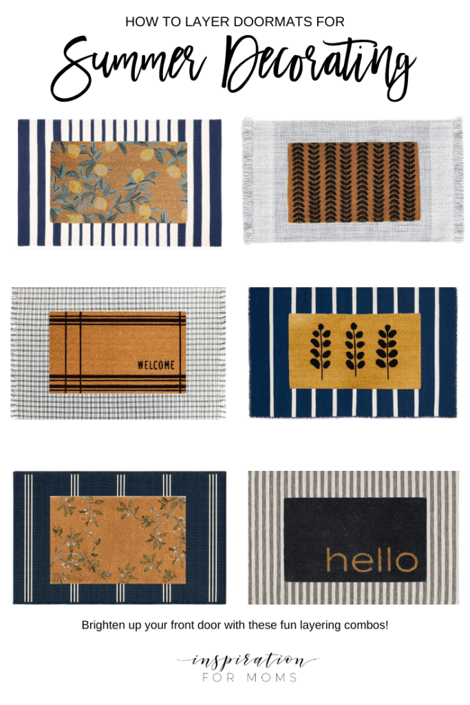doormat layering guide for summer
