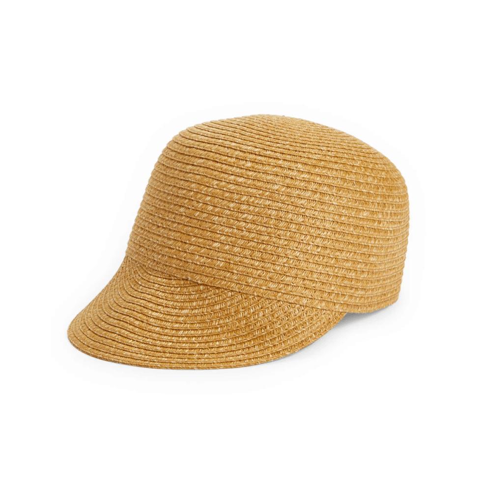 braided baseball cap