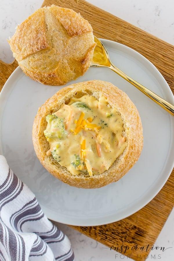 Best Broccoli Cheese Soup (Panera Copycat)