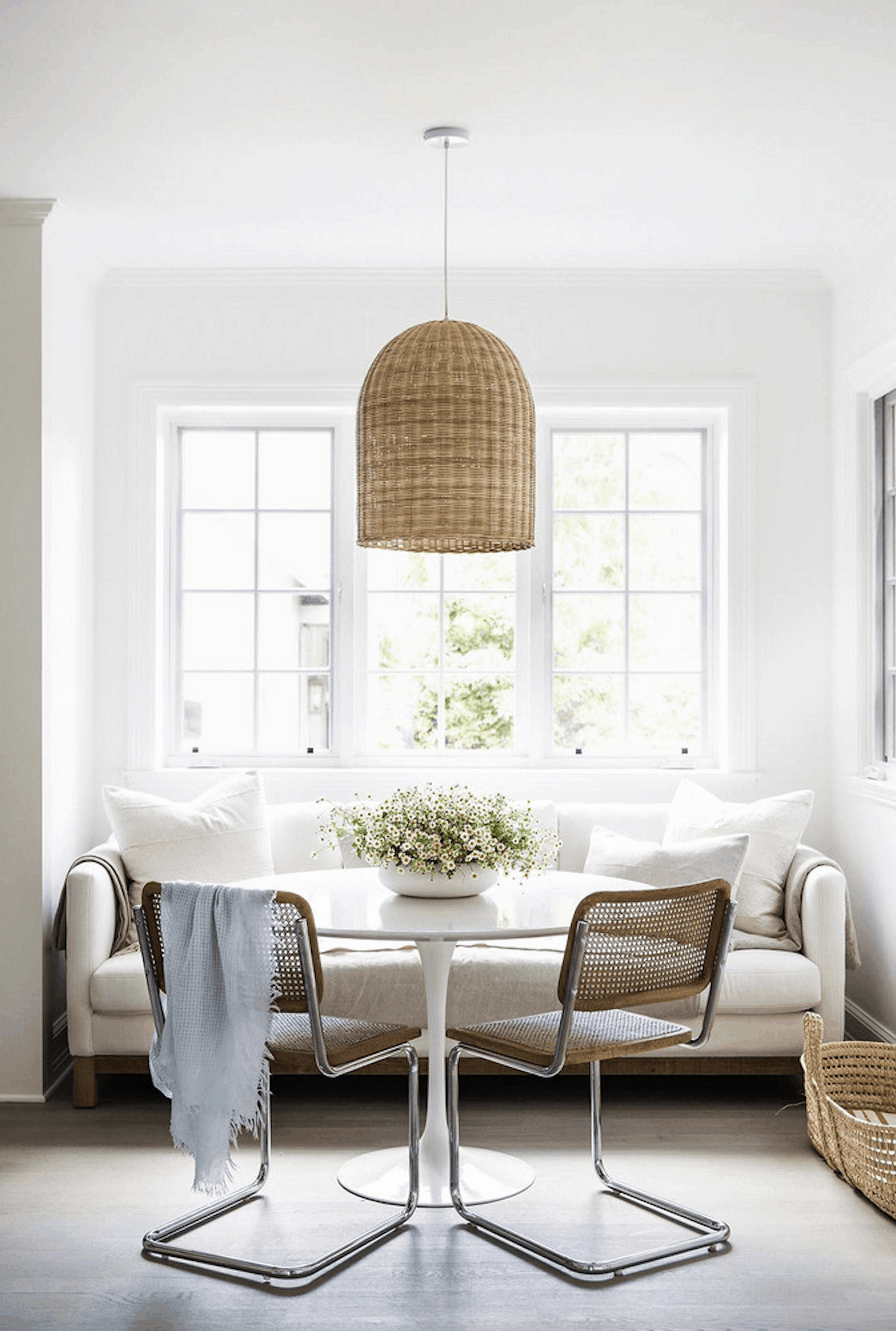 Try A Trend: Cane & Rattan Home Decor