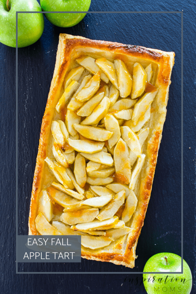 Celebrate the deliciousness of fall with this oh so easy fall apple tart. Only six ingredients needed to wow your friends and family!